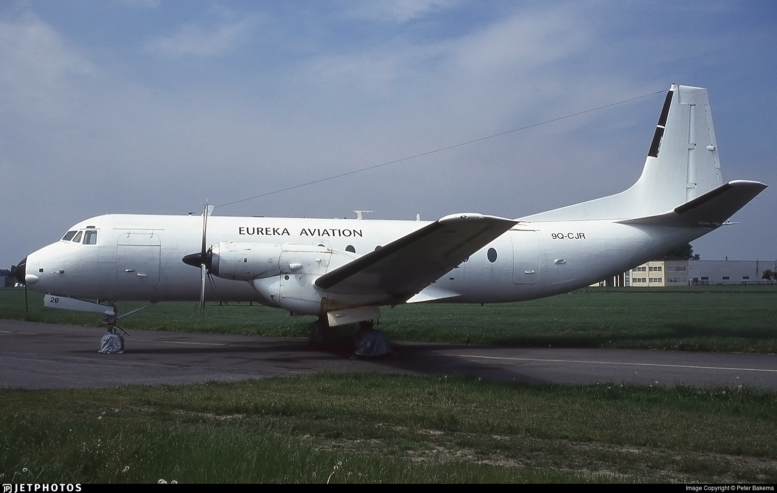 9Q-CJR - Hawker Siddeley Andover C1 - Eureka Aviation
