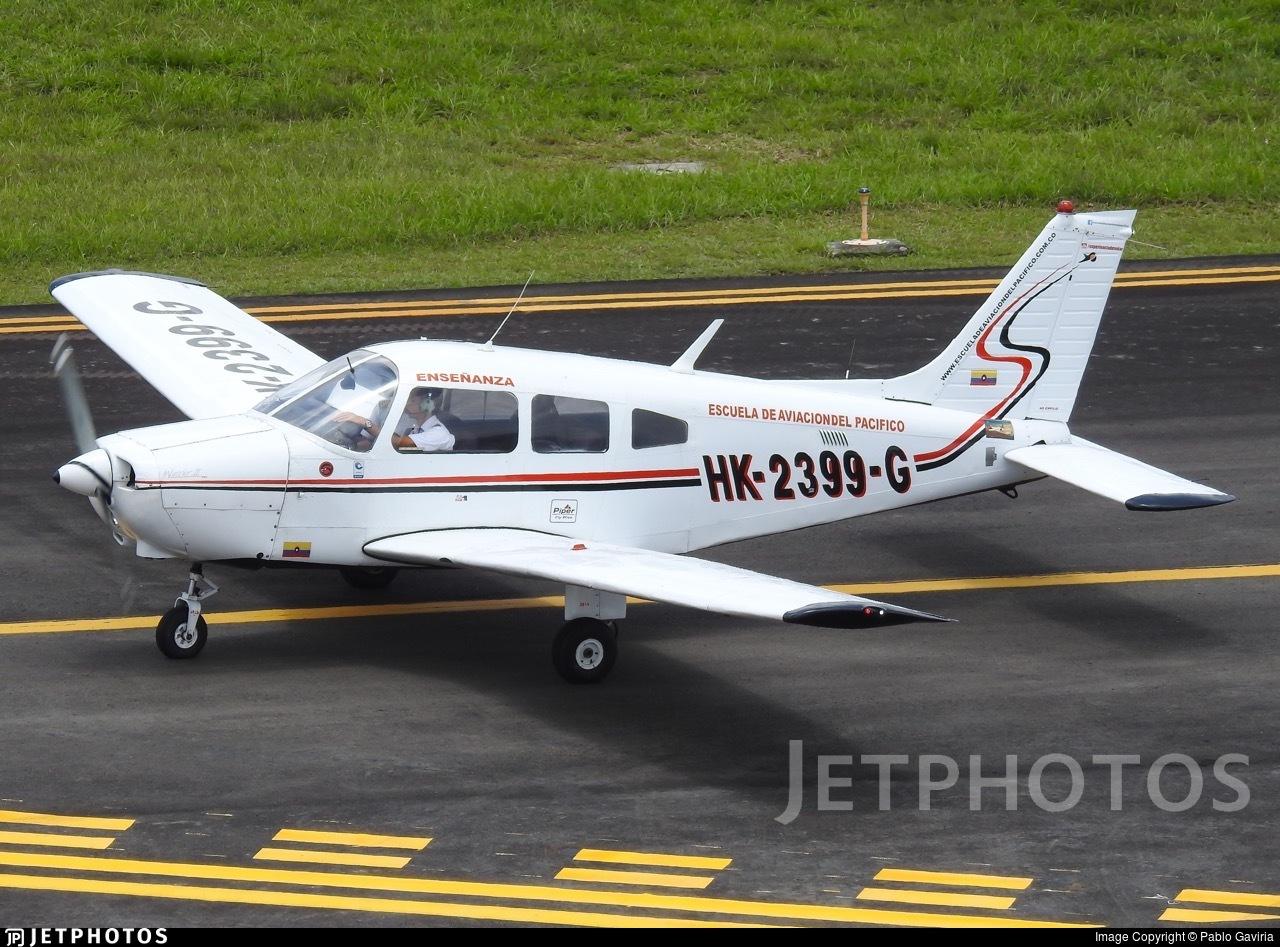 HK-2399-G - Piper PA-28-161 Warrior II - Escuela