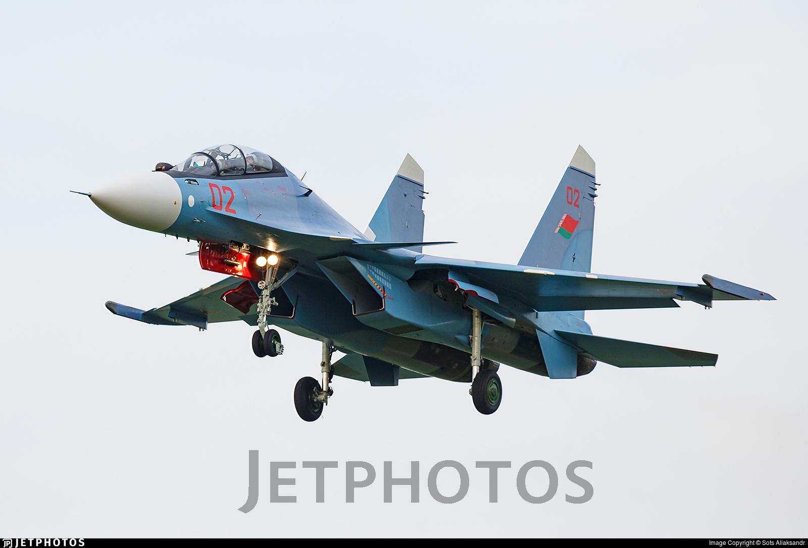 02 - Sukhoi Su-30SM - Belarus - Air Force