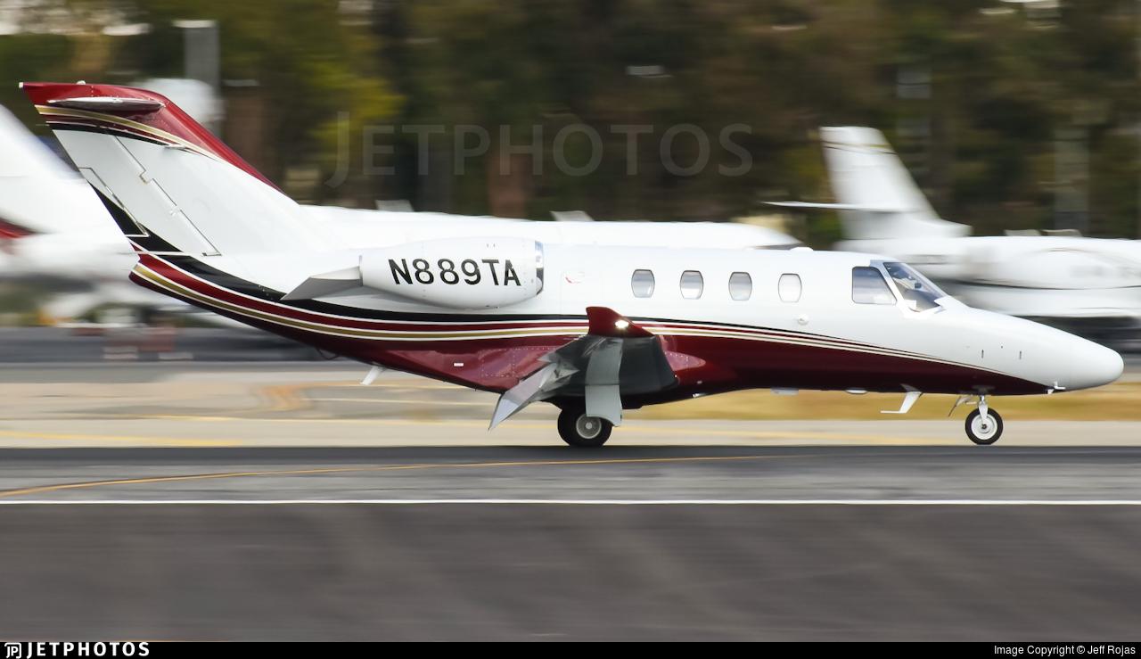 N889TA - Cessna 525 CitationJet M2 - Private