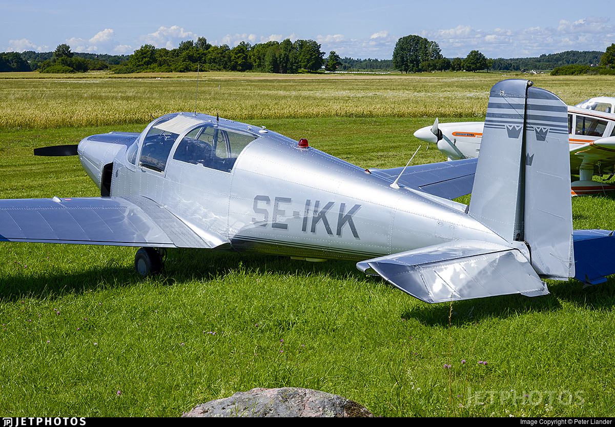 SE-IKK - Saab 91D Safir - Private