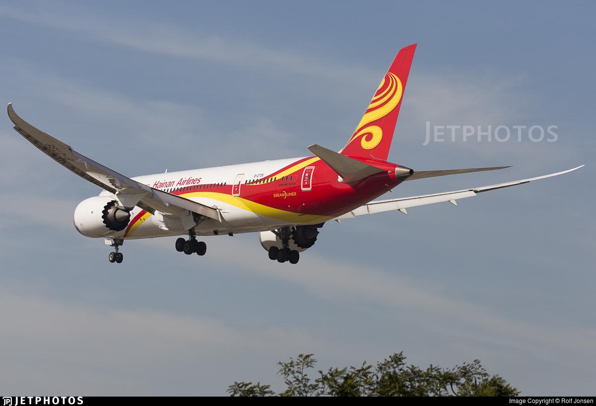 B-2738 - Boeing 787-8 Dreamliner - Hainan Airlines