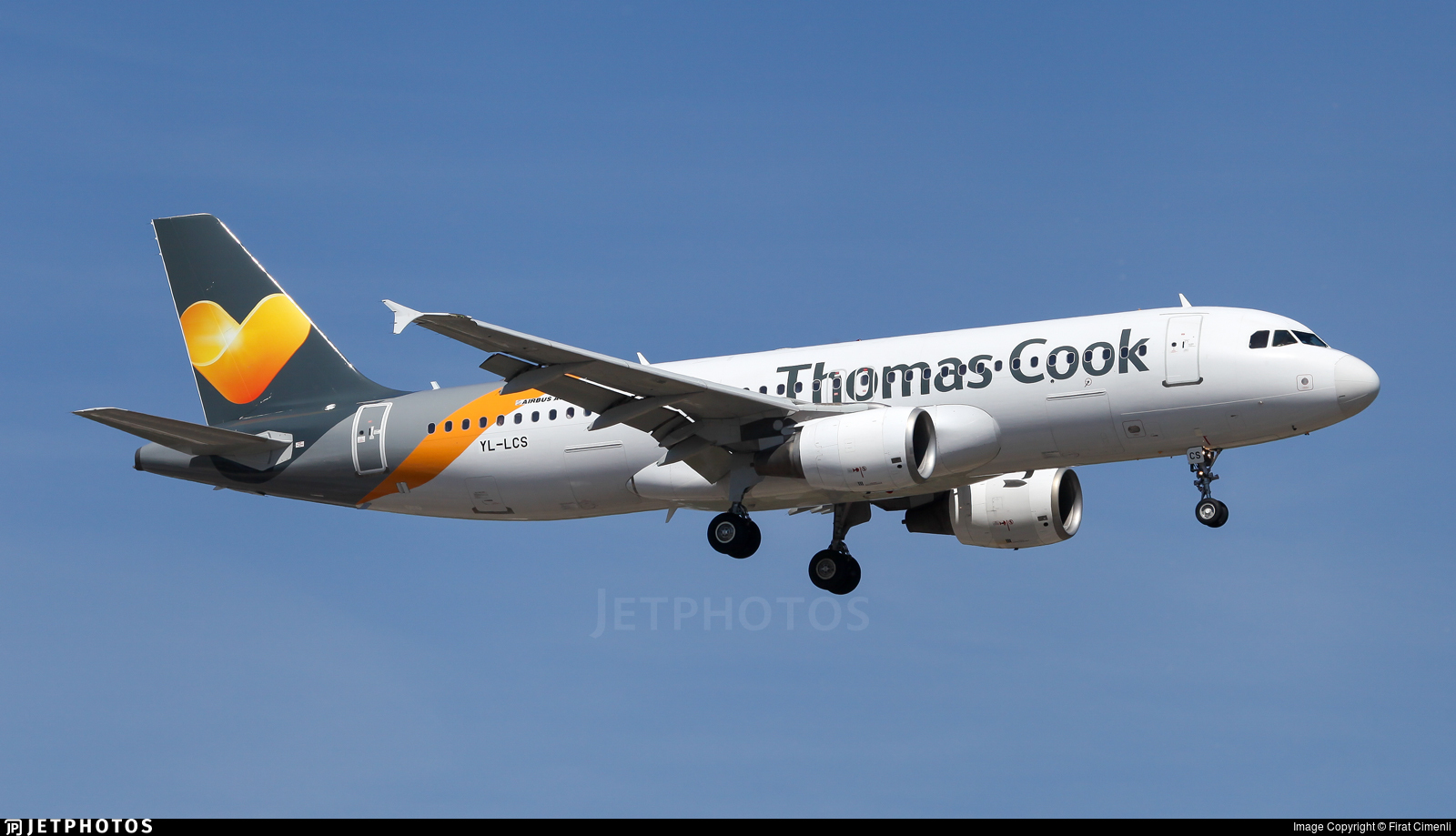 YL-LCS - Airbus A320-214 - Thomas Cook Airlines (SmartLynx Airlines)