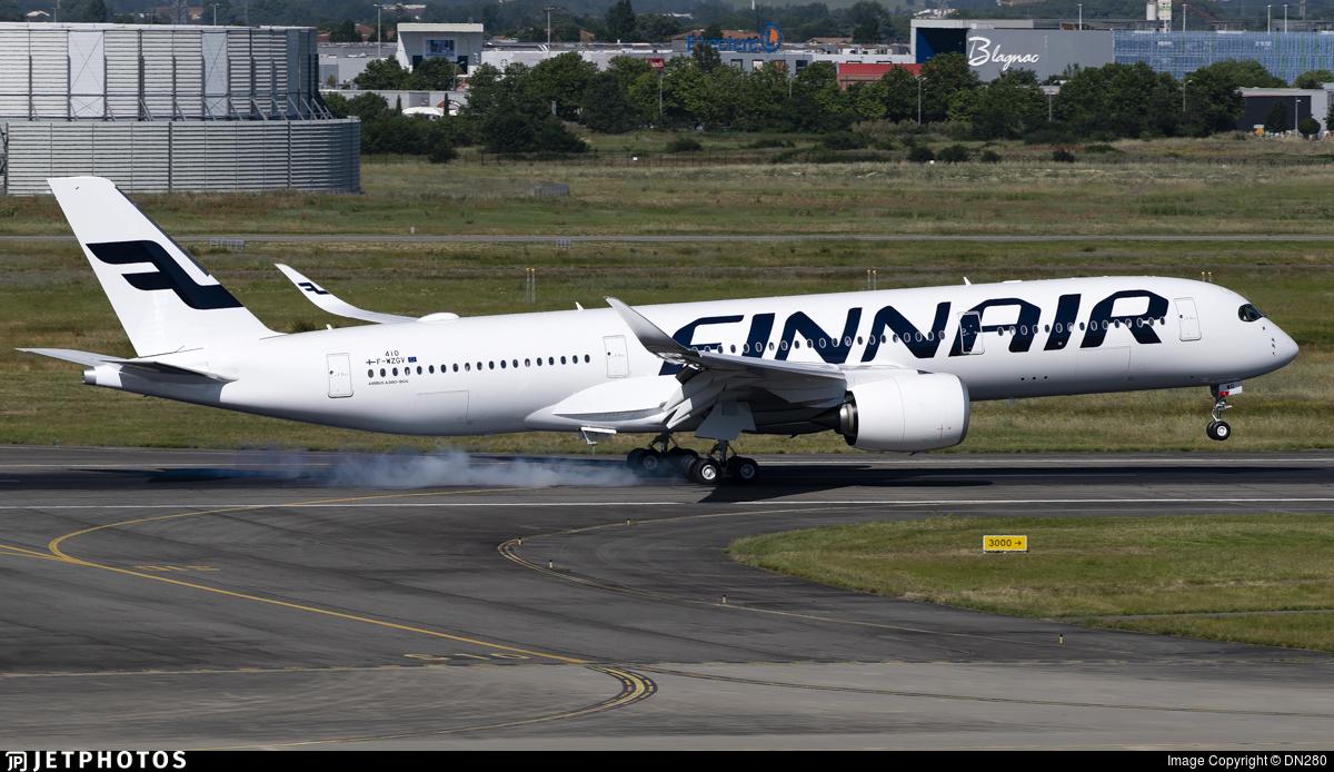 F-WZGV - Airbus A350-941 - Finnair