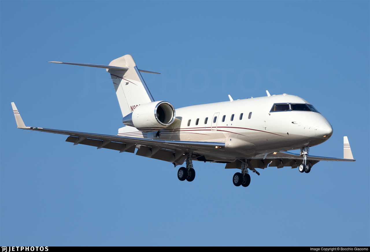 N999VK - Bombardier CL-600-2B16 Challenger 604 - Private