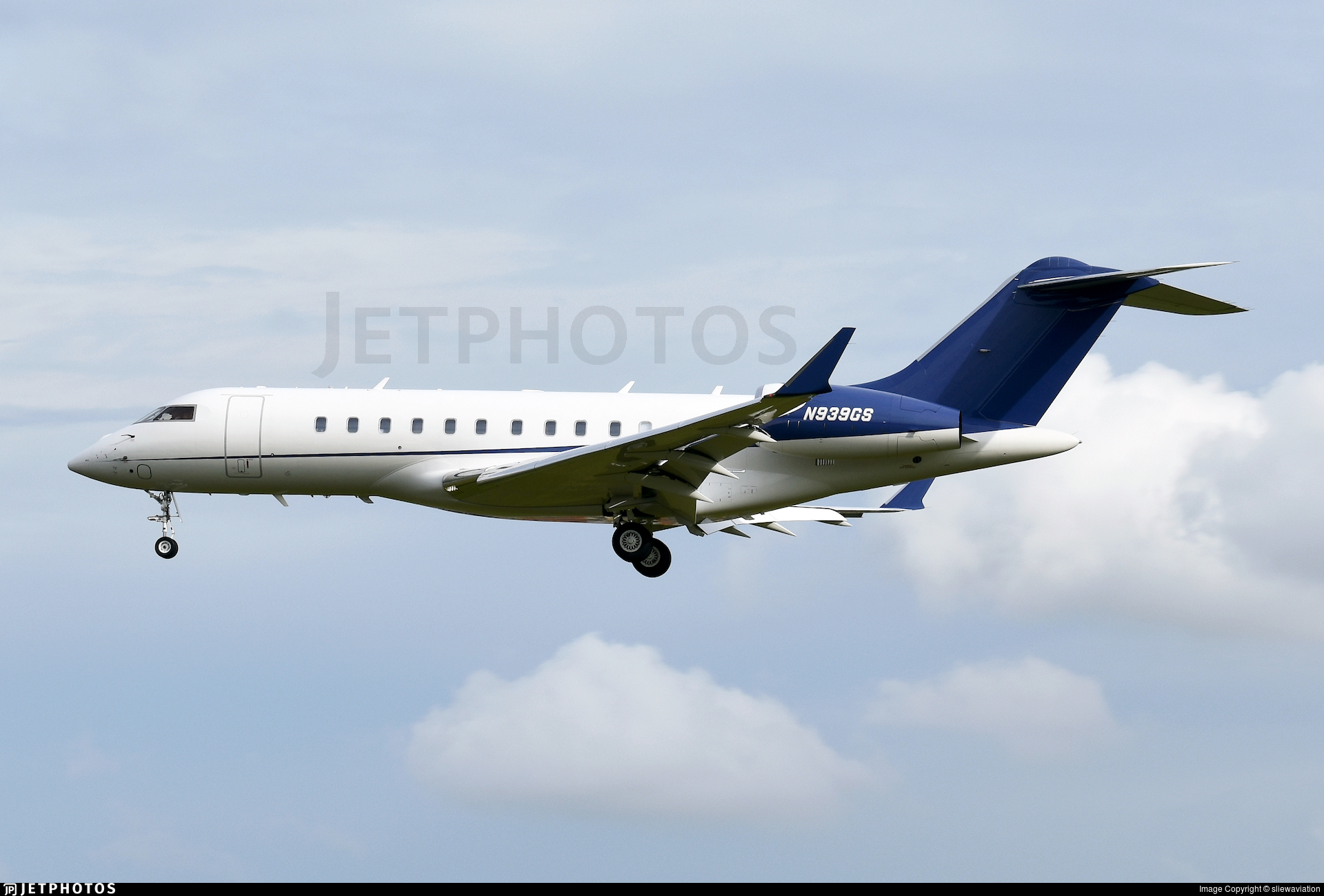 N939GS - Bombardier BD-700-1A11 Global 5000 - Private