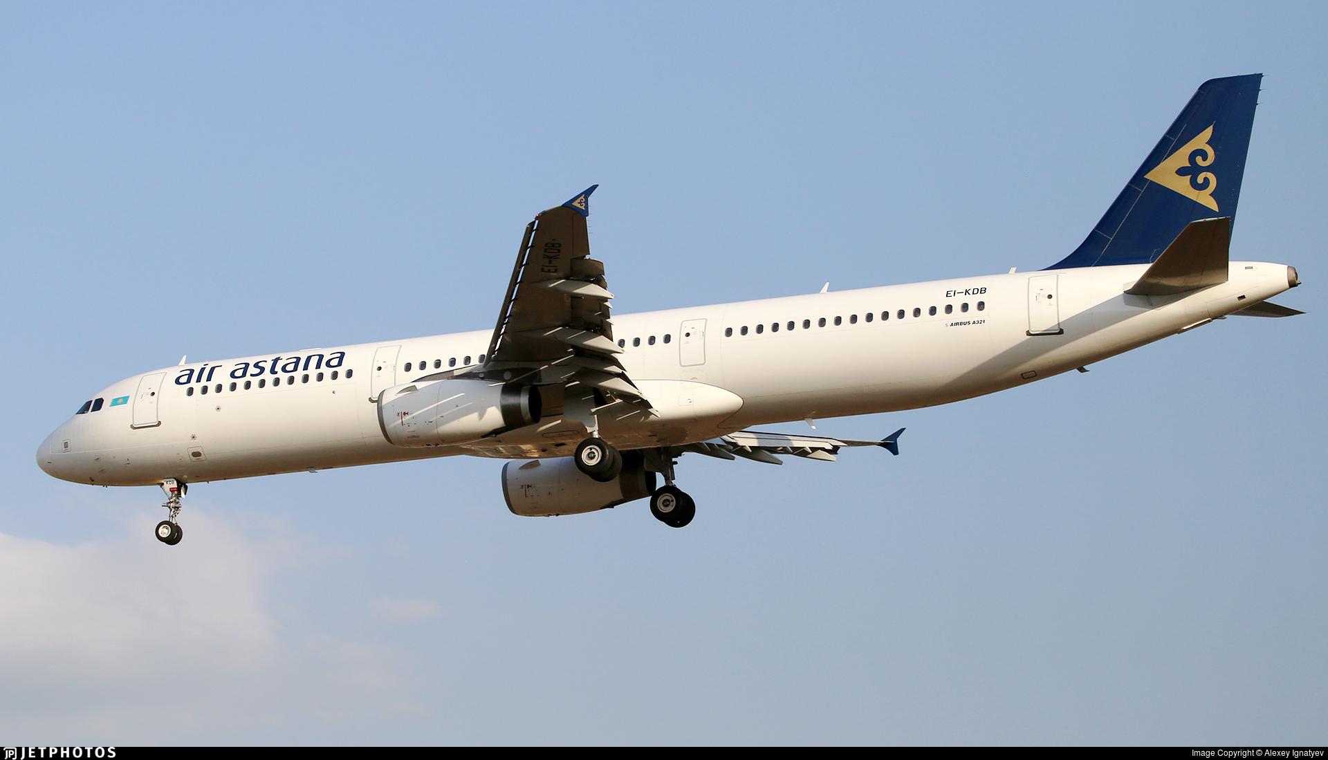EI-KDB - Airbus A321-231 - Air Astana