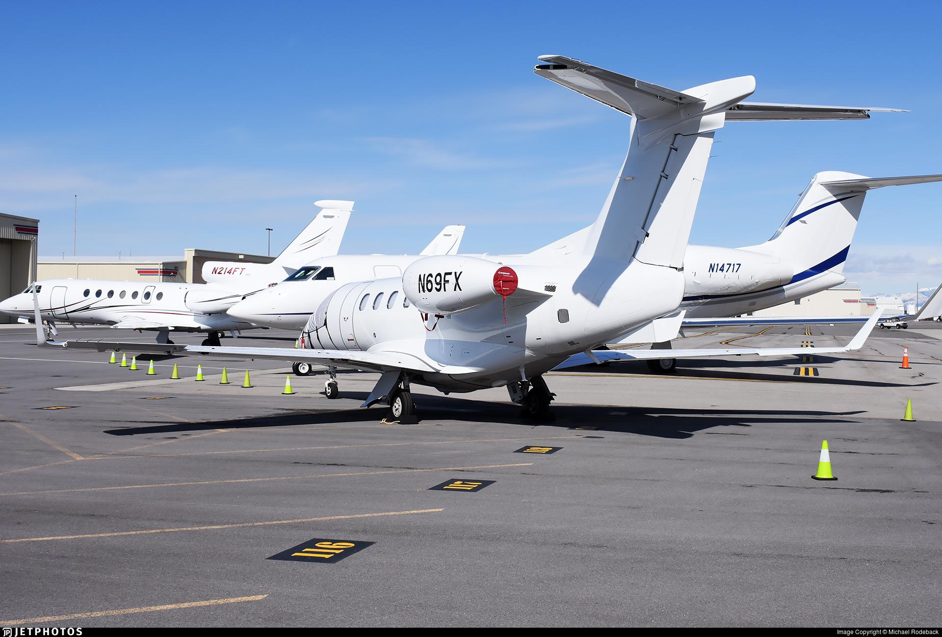 N69FX - Embraer 505 Phenom 300 - Private