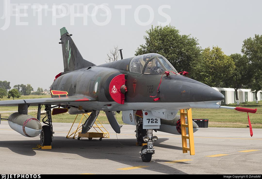96-722 - Dassault Mirage 3V - Pakistan - Air Force