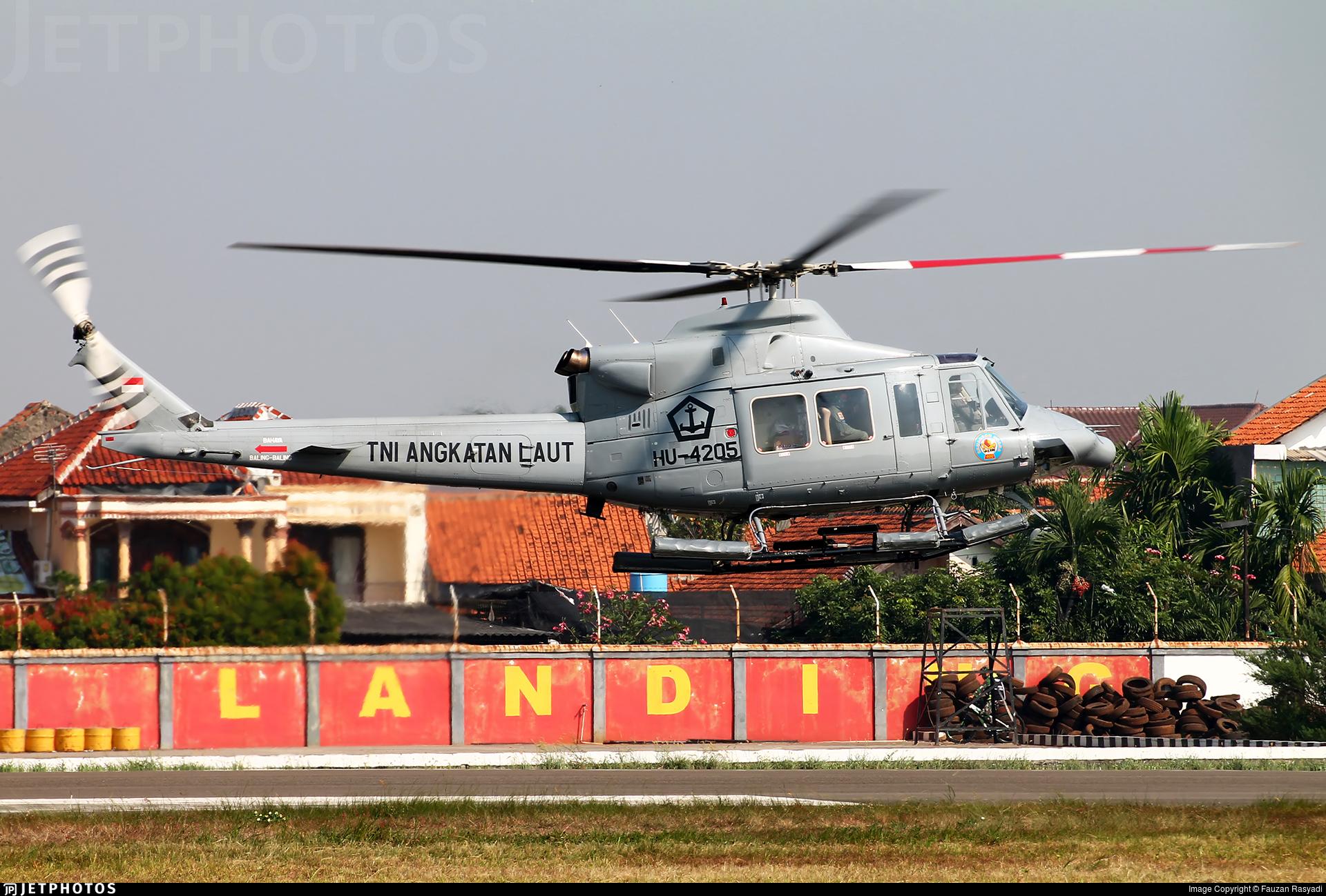 HU-4205 - IPTN NB-412S - Indonesia - Navy