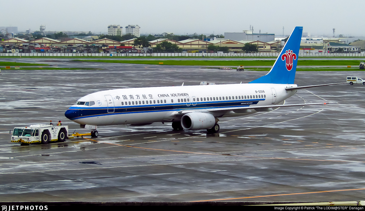 B-5356 - Boeing 737-81B - China Southern Airlines