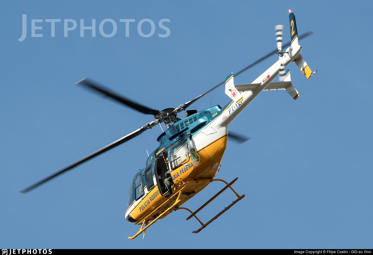 PT-YZF - Bell 407 - Brazil - Highways Federal Police
