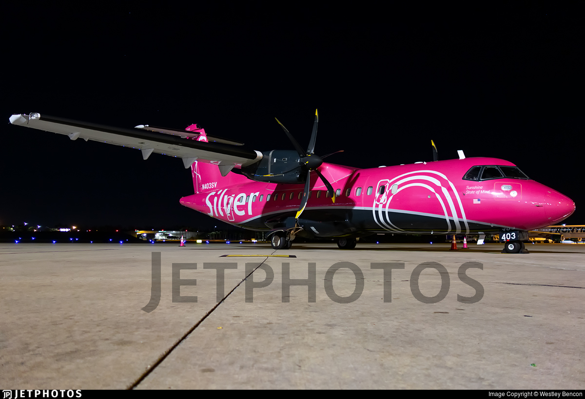 N403SV - ATR 42-600 - Silver Airways