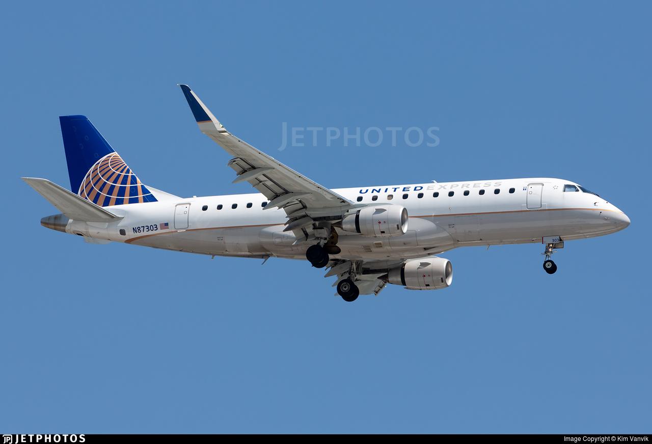 N87303 - Embraer 170-200LR - United Express (Mesa Airlines)