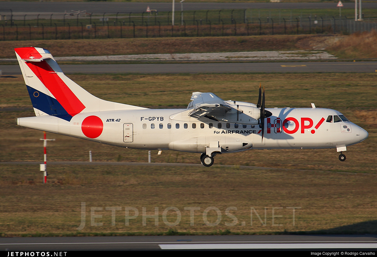 F-GPYB - ATR 42-500 - HOP! for Air France