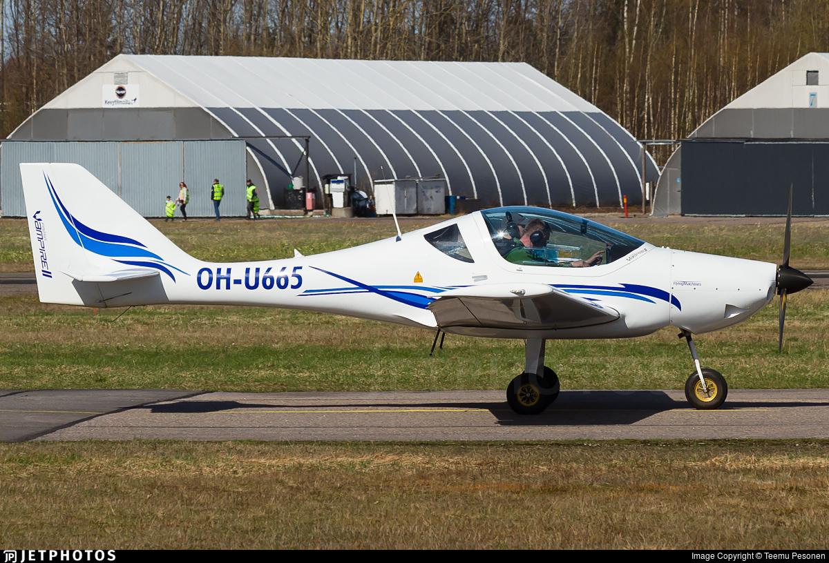 OH-U665 - Flying Machines FM250 Vampire - Mäntsälän Ilmailukerho