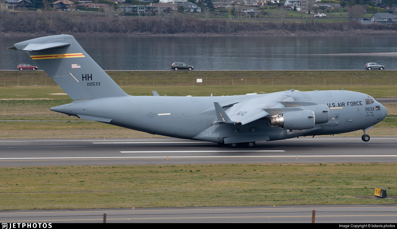 90-0533 - Boeing C-17A Globemaster III - United States - US Air Force (USAF)