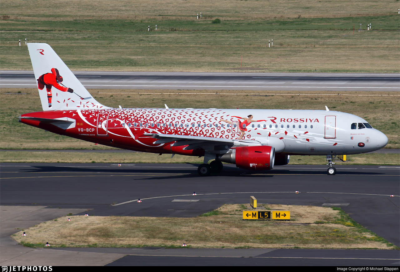 Vq Bcp Airbus A319 111 Rossiya Airlines Michael Stappen