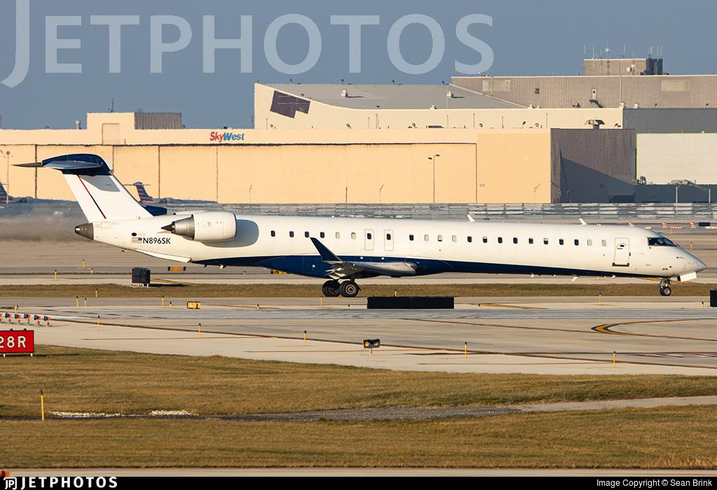 N896SK - Bombardier CRJ-900LR - SkyWest Airlines