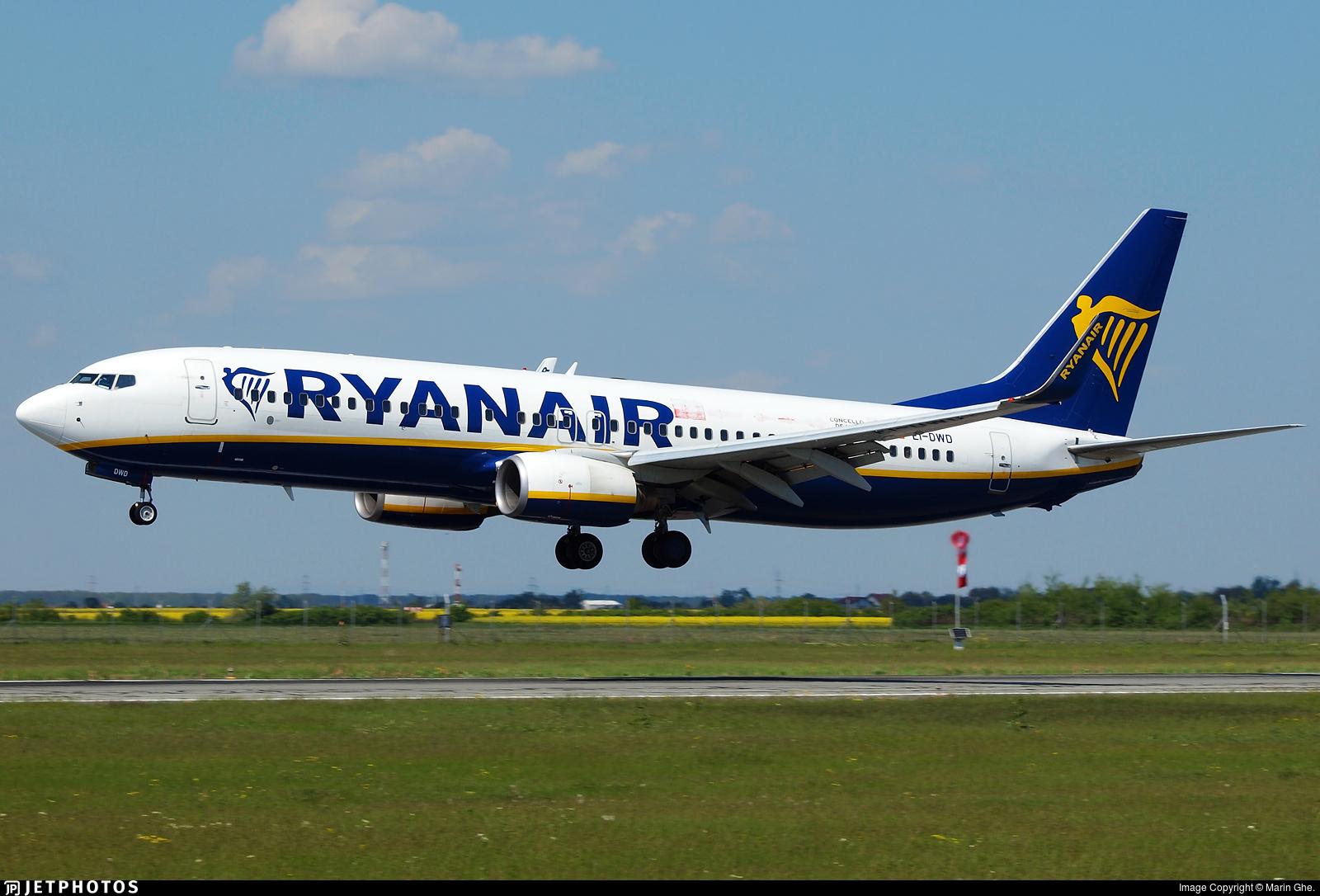 EI-DWD - Boeing 737-8AS - Ryanair