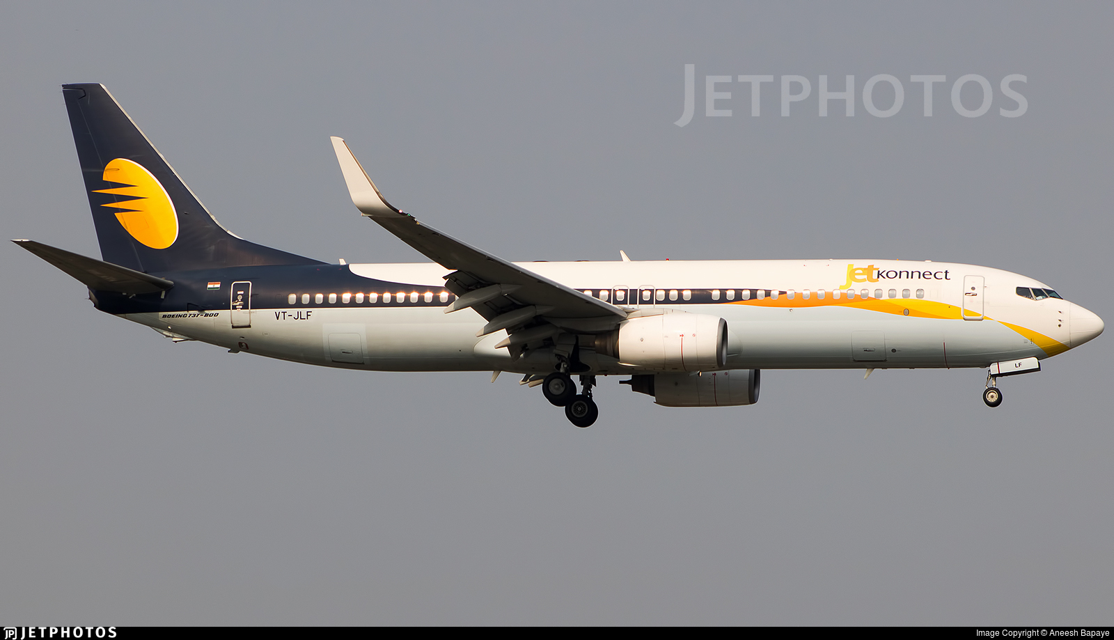 VT-JLF - Boeing 737-8AS - Jet Konnect