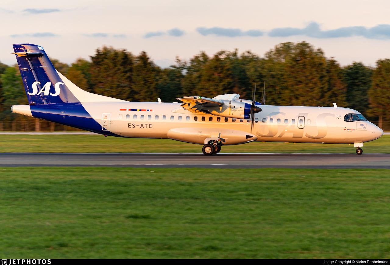 ES-ATE - ATR 72-212A(600) - Scandinavian Airlines (Nordica)