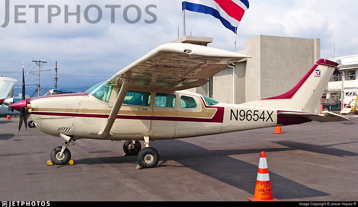 N9654X - Cessna 210B Centurion - Costa Rica - Ministry of Public Security