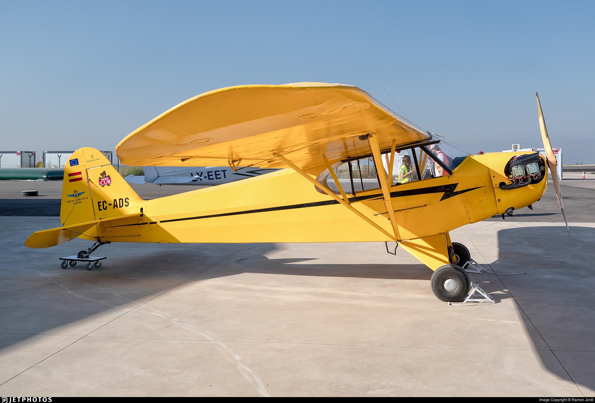 EC-ADS - Piper J-3C-65 Cub - Aero Club - Lleida