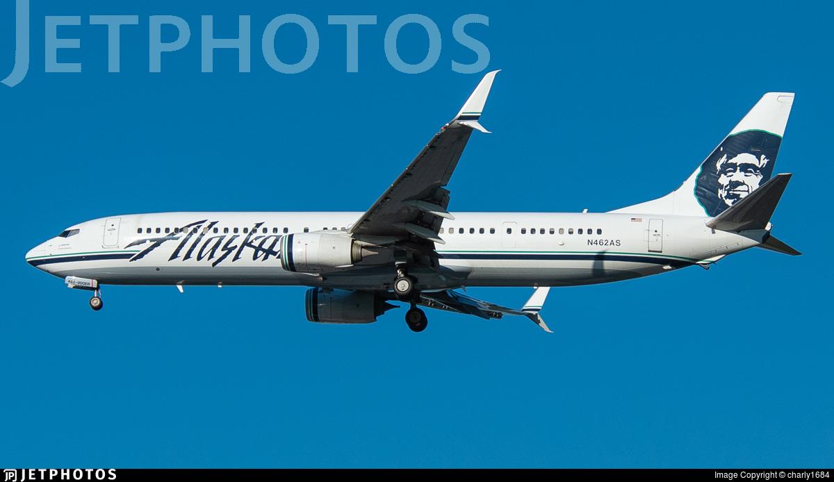 N462AS - Boeing 737-990ER - Alaska Airlines