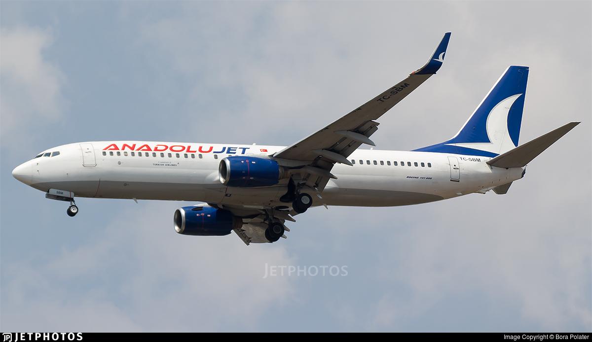 TC-SBM - Boeing 737-8AS - AnadoluJet