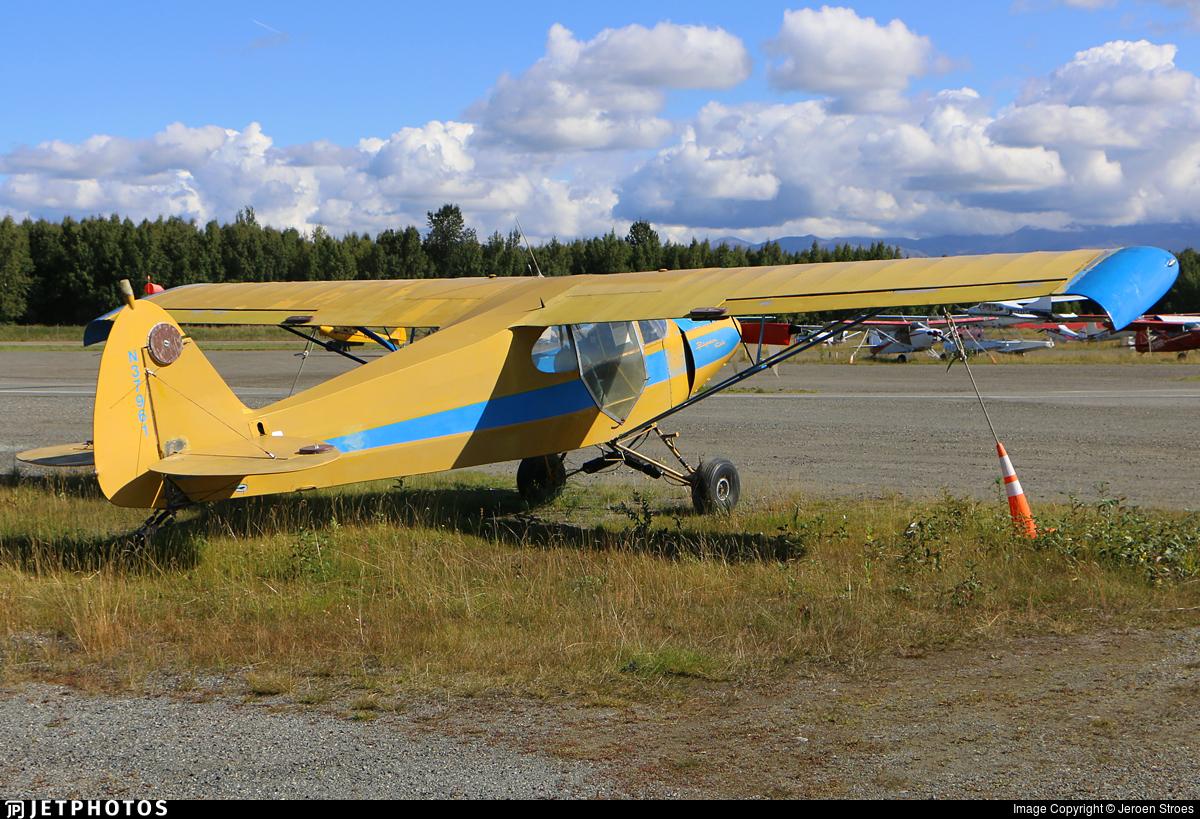 N37961 - Piper J-5A Cub Cruiser - Private