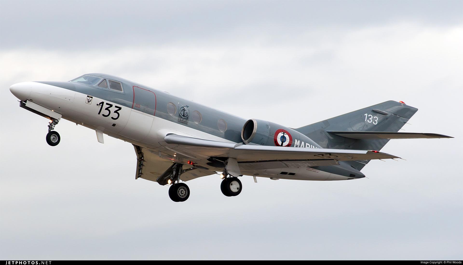 133 dassault falcon 10mer france navy jetphotos. Black Bedroom Furniture Sets. Home Design Ideas