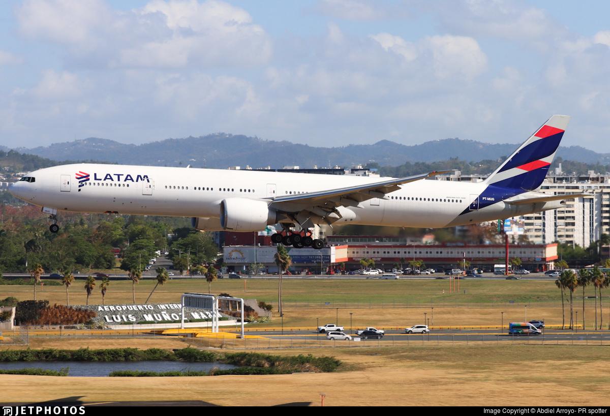 PT-MUG - Boeing 777-32WER - LATAM Airlines