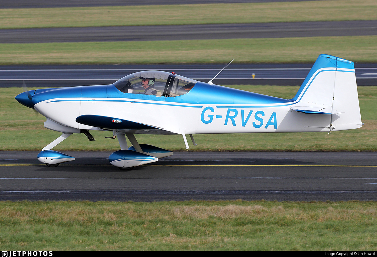 G-RVSA - Vans RV-6A - Private
