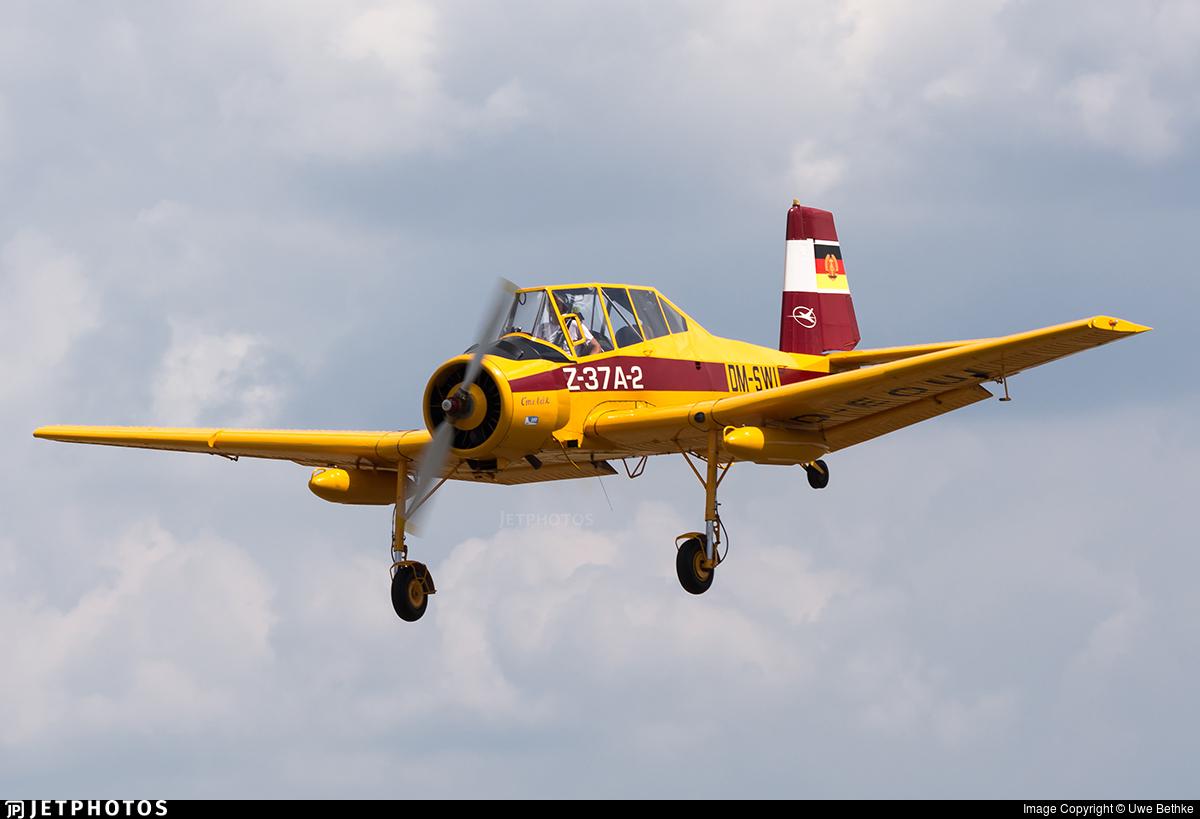 D-EOUI - Let Z-37 Cmelák - Private