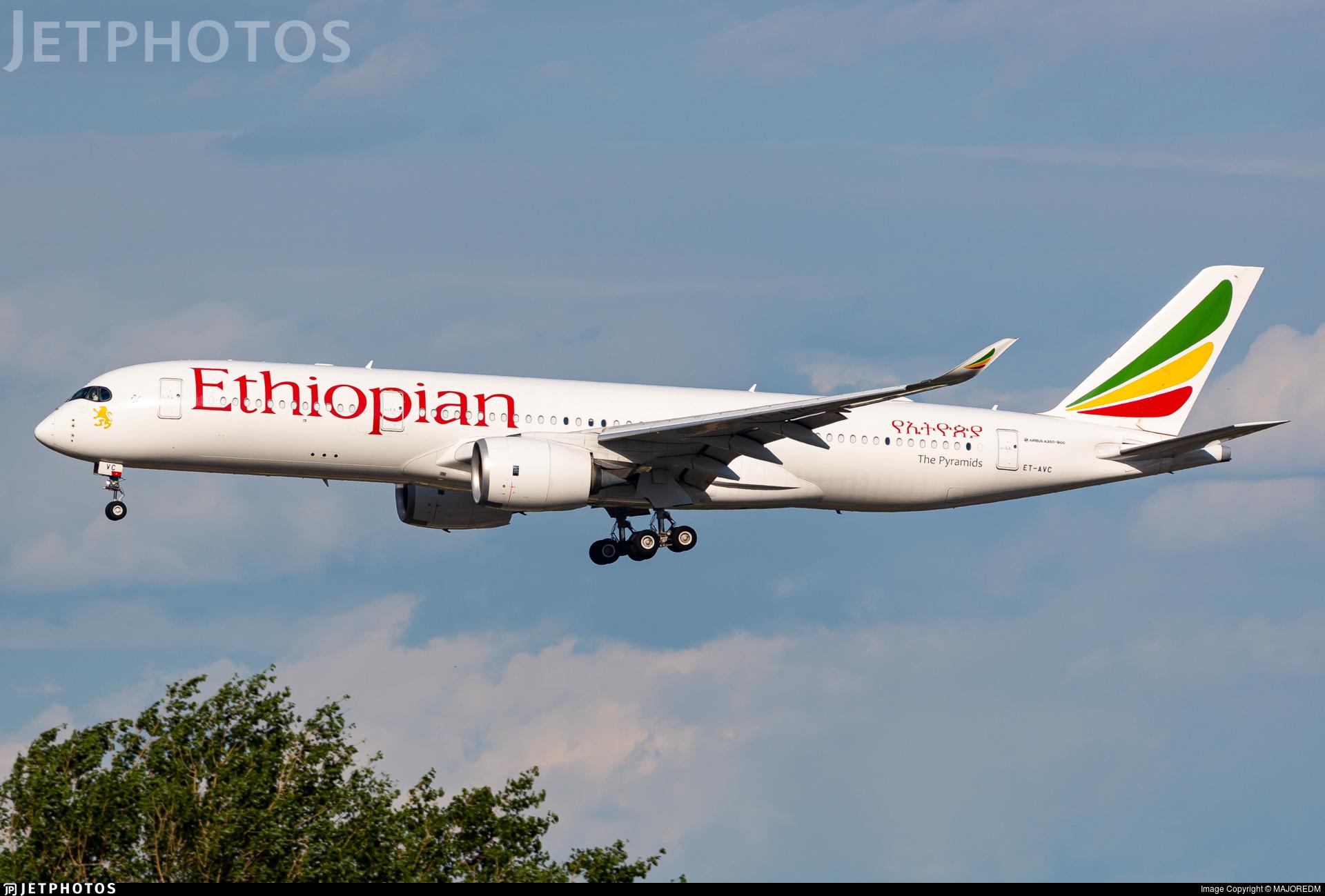 ET-AVC - Airbus A350-941 - Ethiopian Airlines