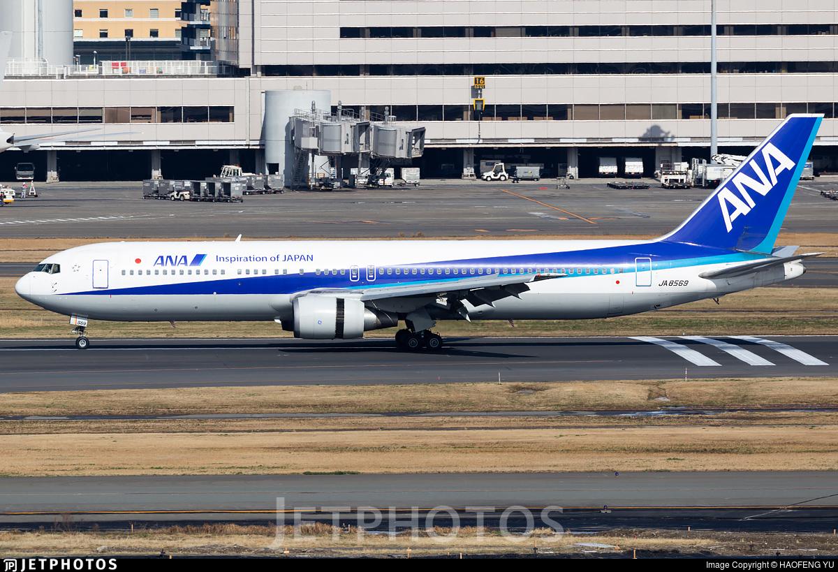 JA8569 - Boeing 767-381 - All Nippon Airways (ANA)