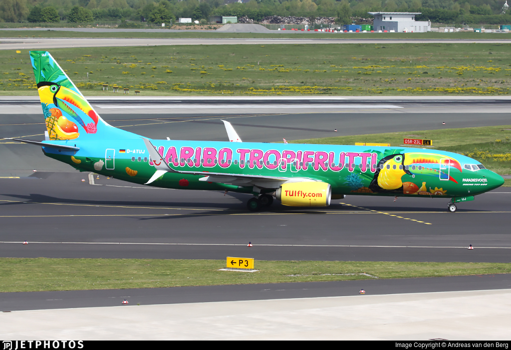 D-ATUJ - Boeing 737-8K5 - TUIfly
