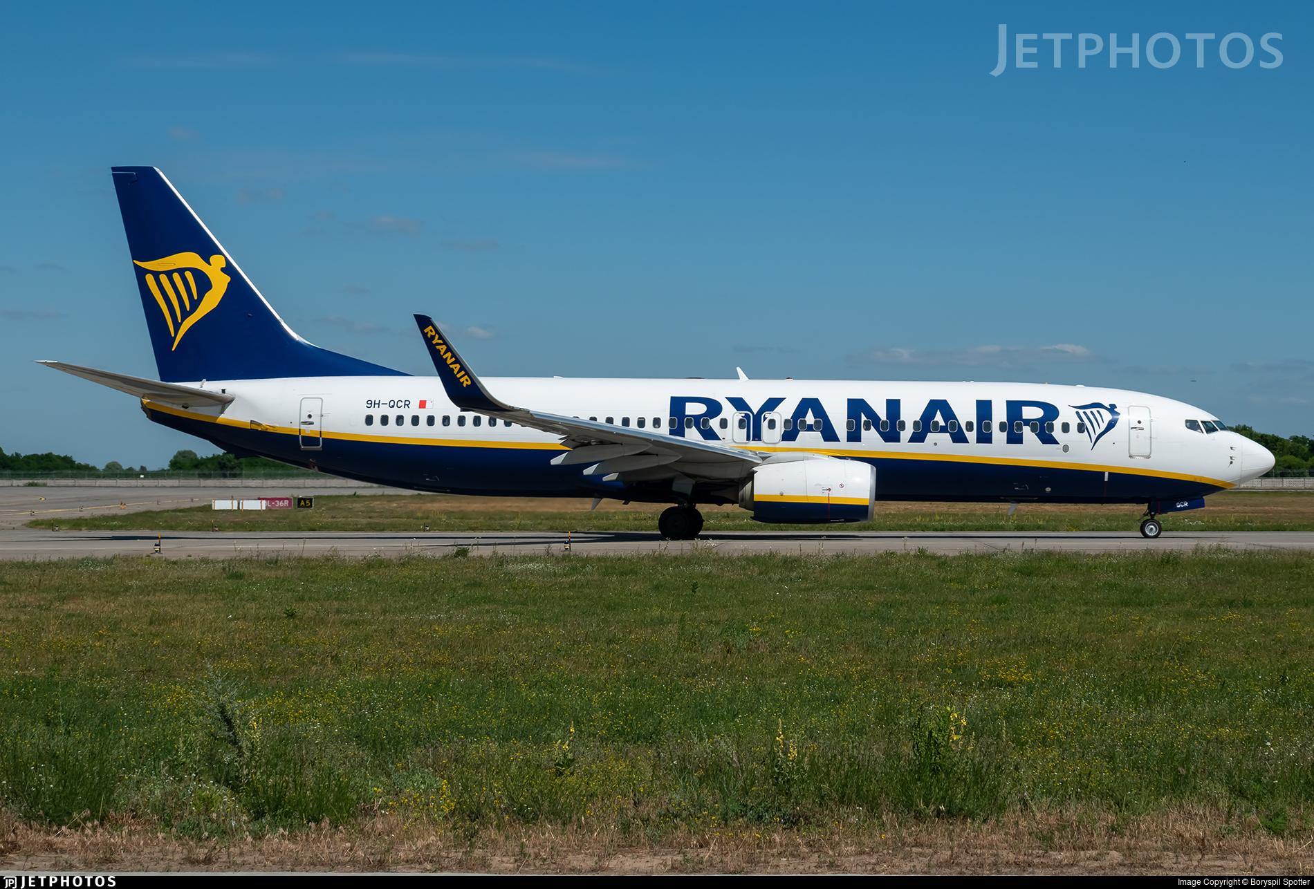 9H-QCR - Boeing 737-8AS - Ryanair (Malta Air)