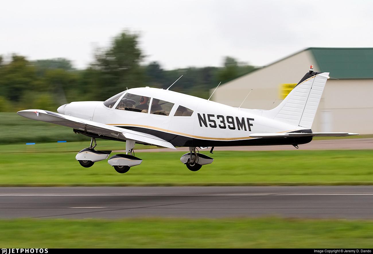 N539MF - Piper PA-28-180 Cherokee B - Private