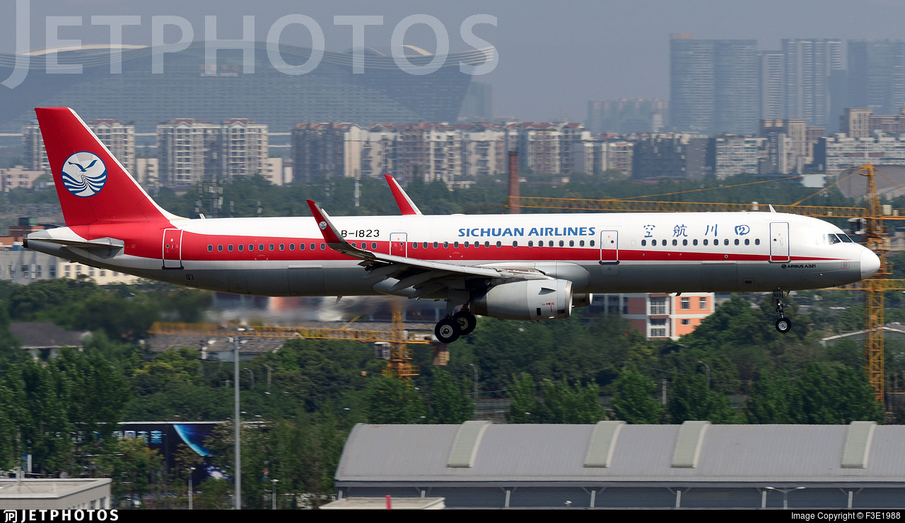 B-1823 - Airbus A321-231 - Sichuan Airlines