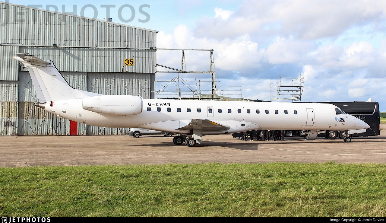 G-CHMR - Embraer ERJ-145MP - Eastern Airways