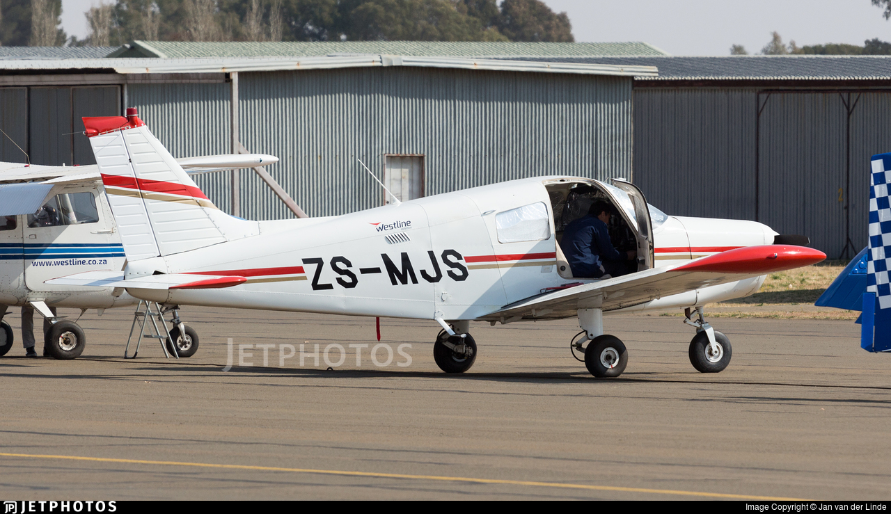 ZS-MJS - Piper PA-28-140 Cherokee - Westline Aviation