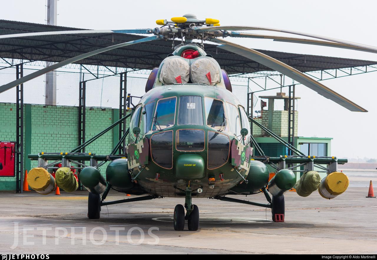 EP-689 - Mil Mi-171Sh-P - Perú - Army