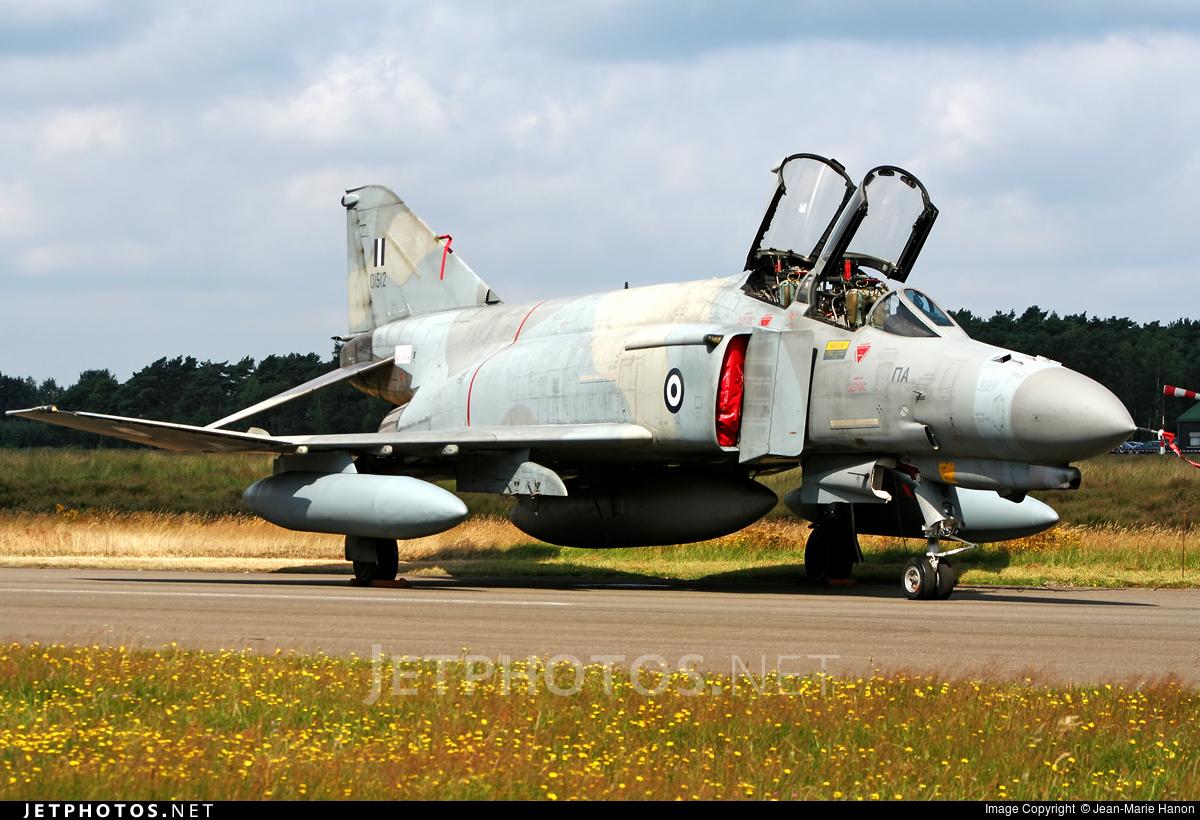 01512 - McDonnell Douglas F-4E AUP Phantom II - Greece - Air Force