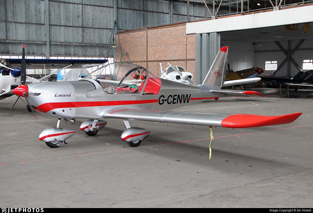 G-CENW - Evektor EV-97A Eurostar - Private