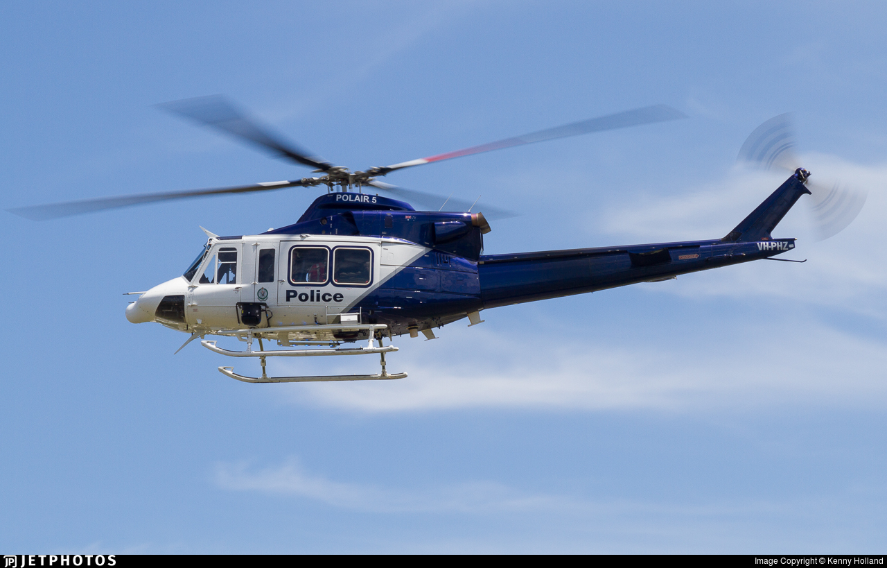 VH-PHZ - Bell 412EP - Australia - New South Wales Police