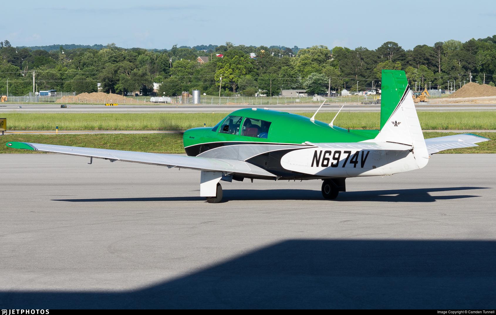 N6974V - Mooney M20F - Private