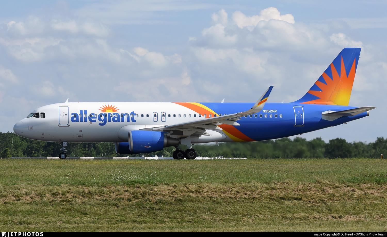 N252NV - Airbus A320-214 - Allegiant Air