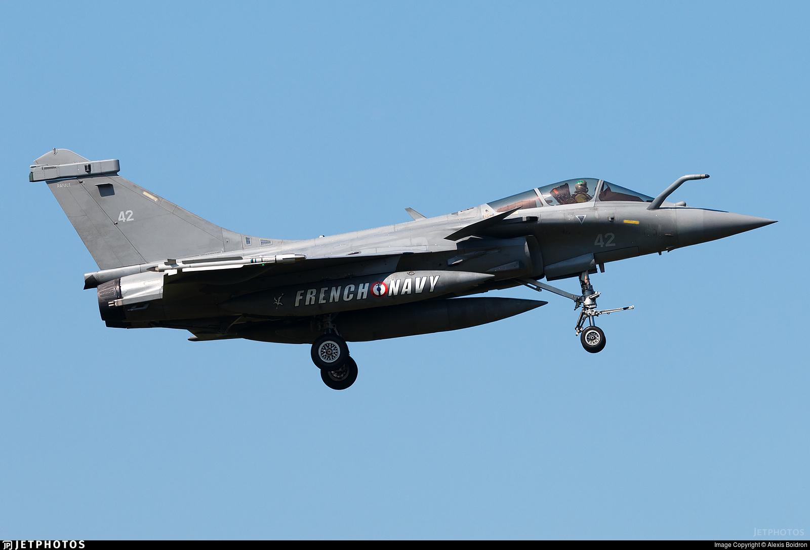 42 - Dassault Rafale M - France - Navy